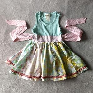 Matilda Jane Floral Spring Dress * Size 4 Girls